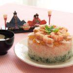 ひな祭りには【ちらし寿司とハマグリのお吸い物】をなぜ食べるの?