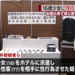 福井康行の顔画像。16歳少女に77歳男性客と性行為をさせた!!容疑者の年齢・職業は?